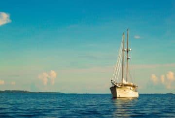 Viaje de novios a Panamá - San Blas - Navegación en velero