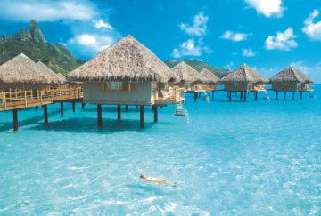 Viaje de novios a Polinesia - Bora Bora - Bungalow overwater