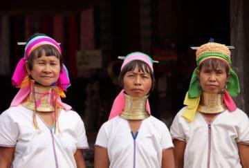 Viaje de novios a Tailandia - Chiang Rai - Mujeres Jirafa