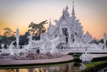 Viaje de novios a Tailandia - Chiang Mai - Wat Rong Khun